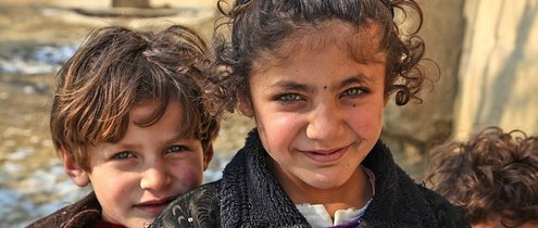 Afghanistan kids by Amber Clay from Pixabay